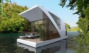 Hotel flotante: Catamarán que puede vagar solitariamente en las aguas