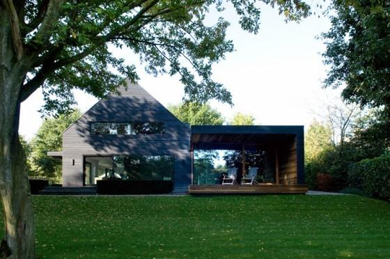 Lo hermoso de la casa con  áreas verdes