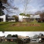Casa muy brillante en Londres reciclada con paneles de acero inoxidable
