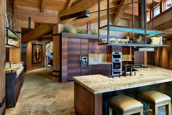 Una cocina con decoración inigualable