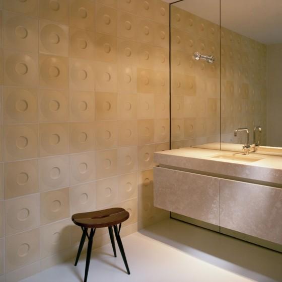 una decoración del baño