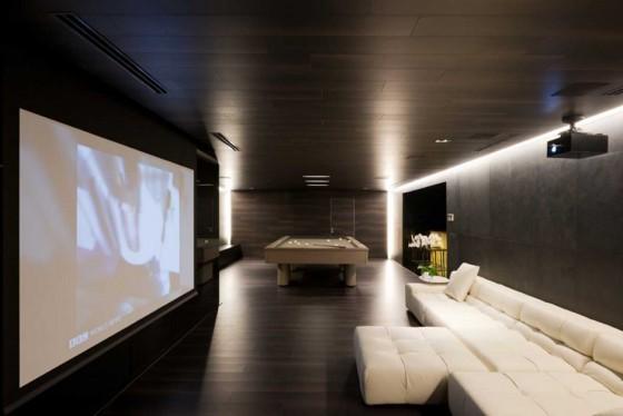 una sala para ver películas