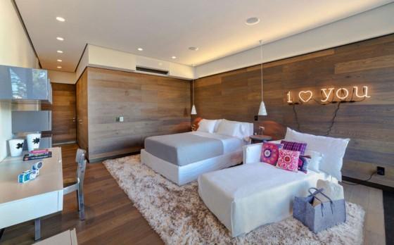 cuarto moderno y privado