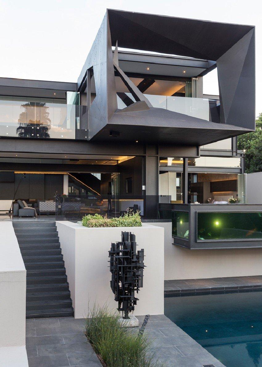Kloof Road House en Johannesburgo Sudafrica que incluye una ...