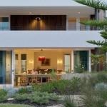 Residencia ecológica y amigable en Australia, diseñada para socializar con todos