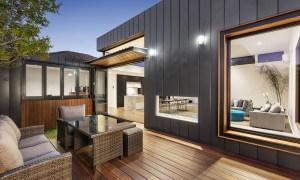 Casa australiana contemporánea con excelentes interiores y espacios al aire libre inigualables