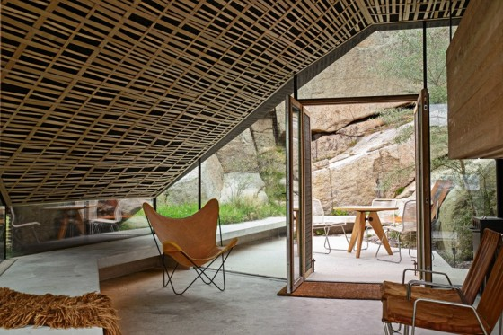 un acabado de techo moderno