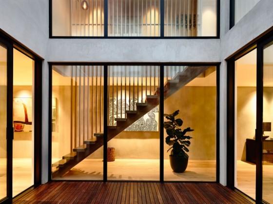 hermosa y moderna casa