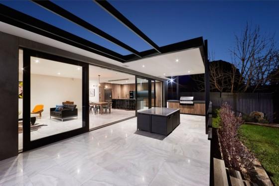 bonita residencia moderna