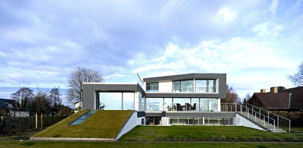 Casa Z moderna y minimalista