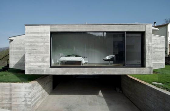 Fachada casa Pocafarina, casa en Girona, España