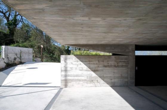 Entrada casa Pocafarina, casa en Girona, España