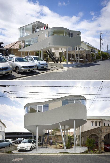 Casa ático en espiral