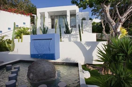 Moderna residencia con vista al mar Catarata