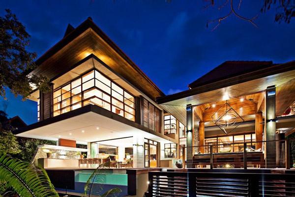 La Casa SGNW, en sudáfrica, Símbolo de Elegancia Moderna