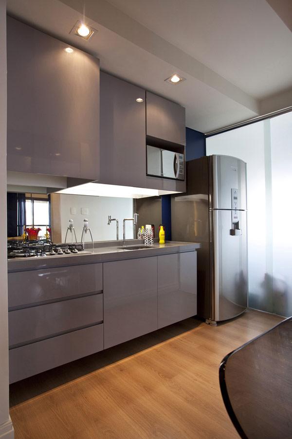 Imagen de apartamento de 45 metros cuadrados con optimización de espacios