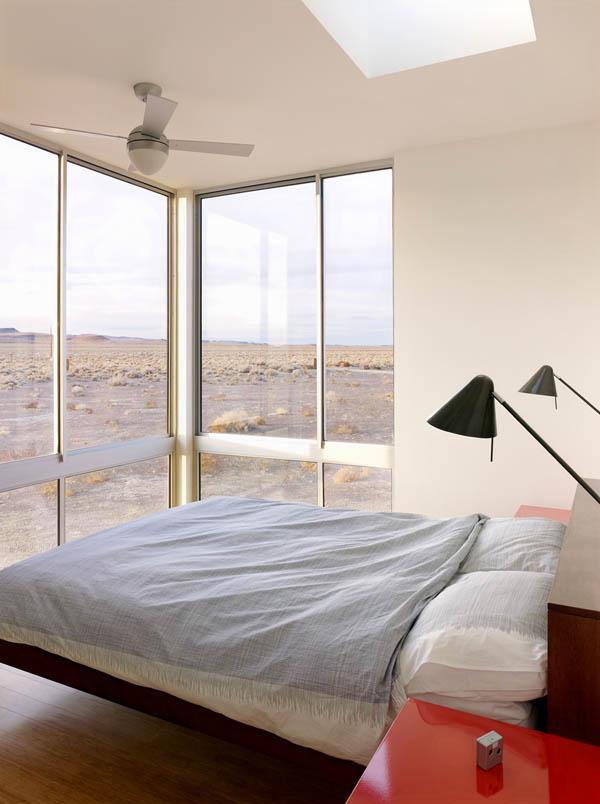 Imagen de casa de vacación en el desierto