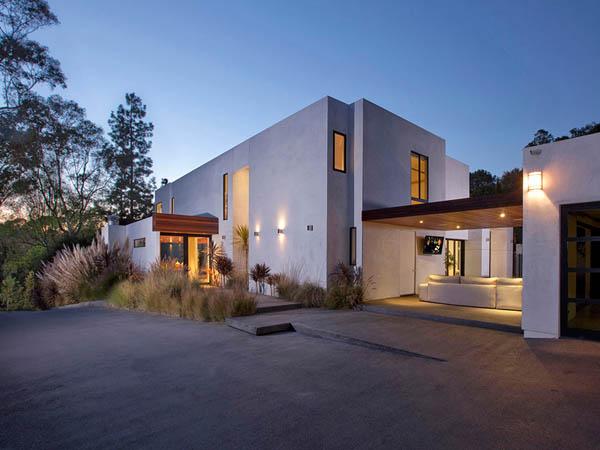 Observa por dentro una exclusiva casa en Beberly Hills