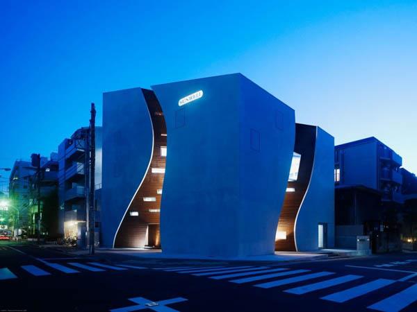 Protección para paredes de edificio en Tokio Japón (22)