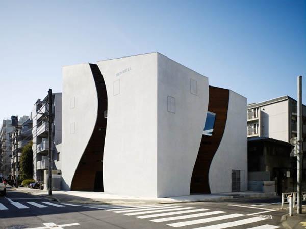 Protección para paredes de edificio en Tokio Japón (19)