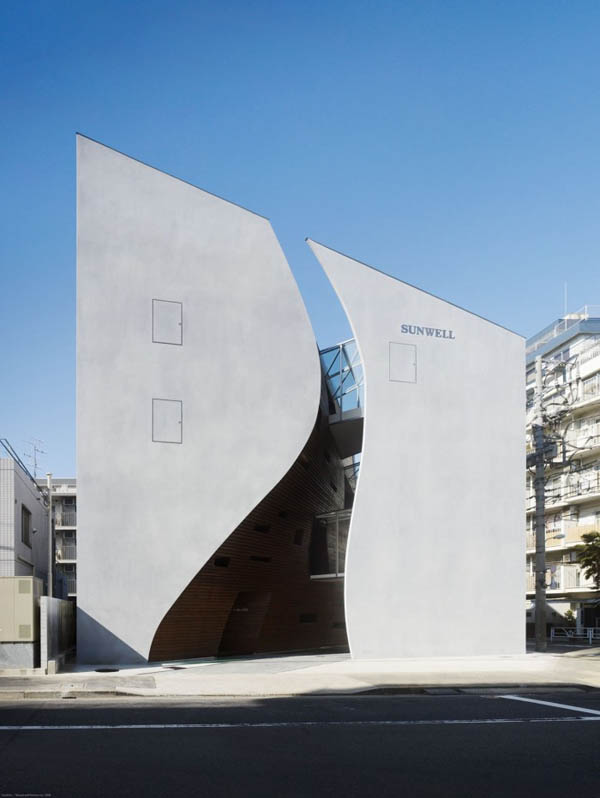 Protección para paredes de edificio en Tokio Japón (18)