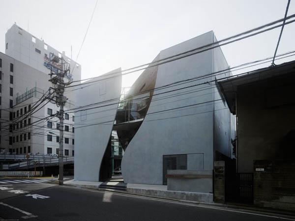 Protección para paredes de edificio en Tokio Japón (16)