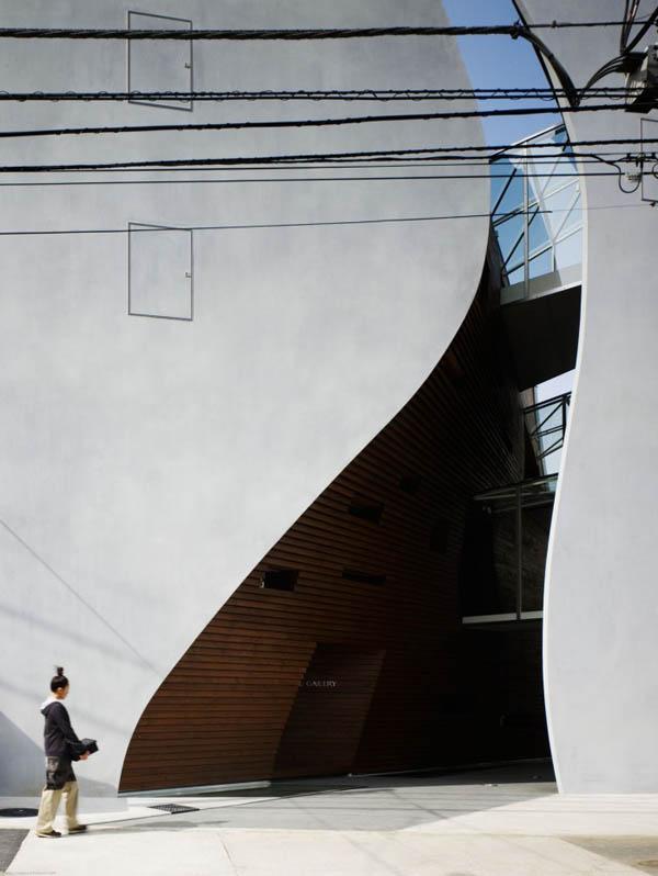 Protección para paredes de edificio en Tokio Japón (15)