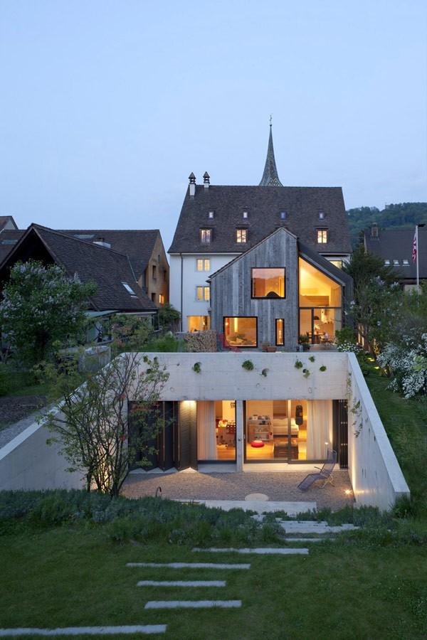 Imagen de Remodelación de casa del año 1800 en Suiza (26)