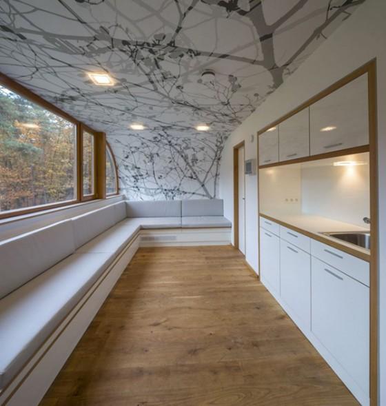 Casa de árbol en Bélgica para adultos (15)