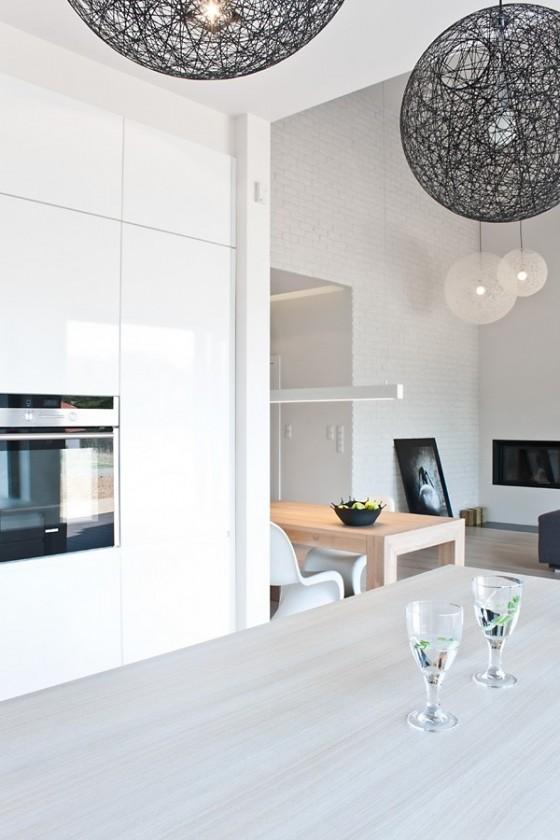Diseño de interiores minimalista en casa de Polonia (7)