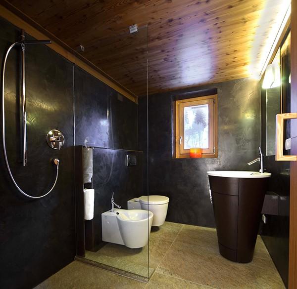 Apartamento con interiores amaderados en Italia (12)