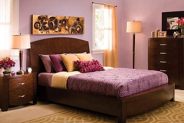 Interiores con colores combinados