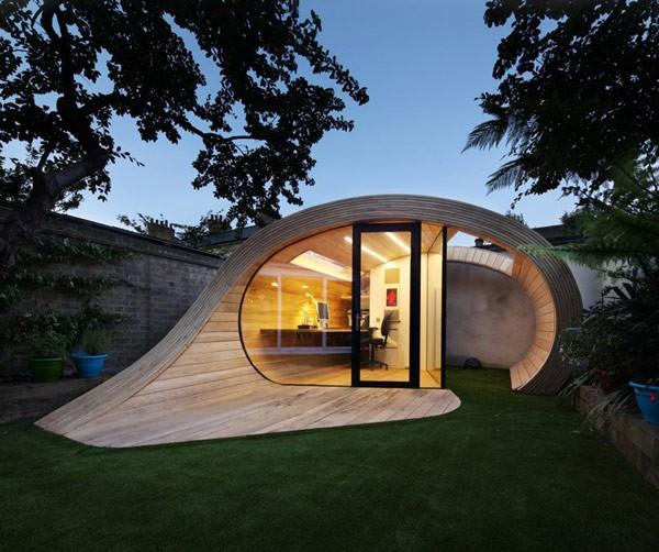 Una oficina modular para instalar en cualquier casa