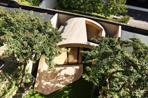 Oficina en el jardín para casas ruidosas (4)