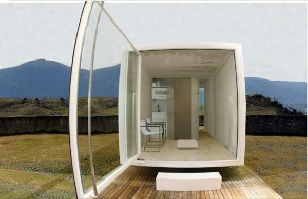 Mini-casa modular de bajo costo para cualquier terreno