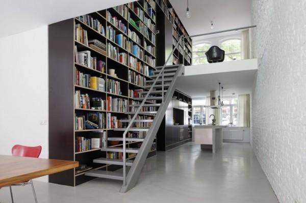 Amantes de la lectura 8 formas de armonizar su librería en casa (8)