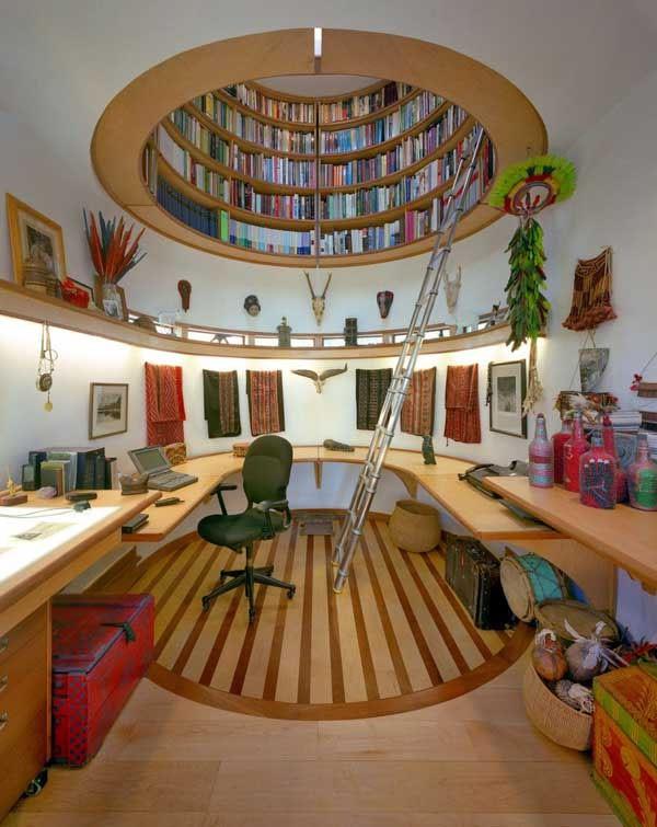 Amantes de la lectura 8 formas de armonizar su librería en casa (7)