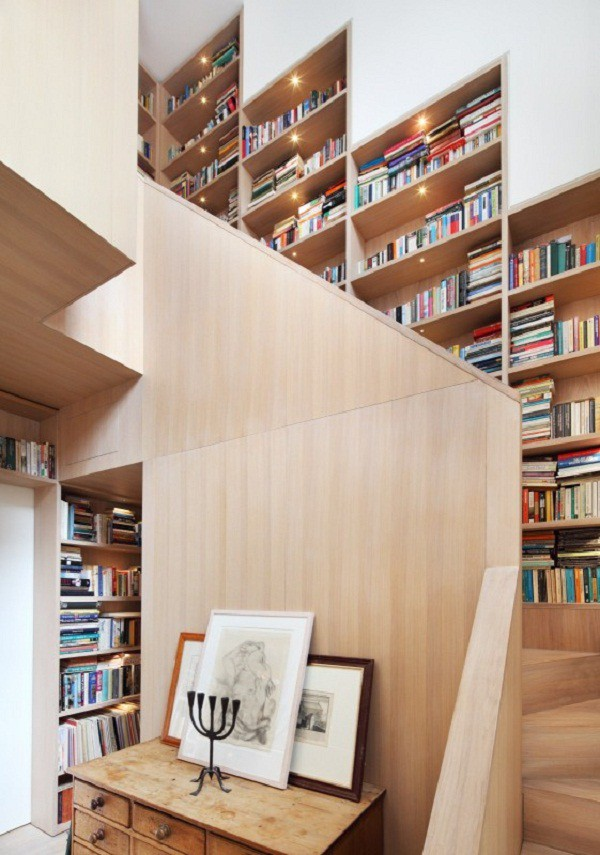 Amantes de la lectura 8 formas de armonizar su librería en casa (2)