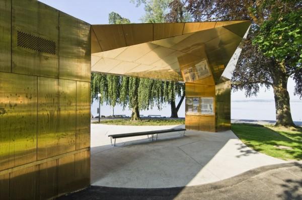 Construcciones con tonos dorados como el oro (2)