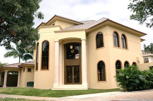 Fachadas de casas lujosas la verdadera comodidad (11)