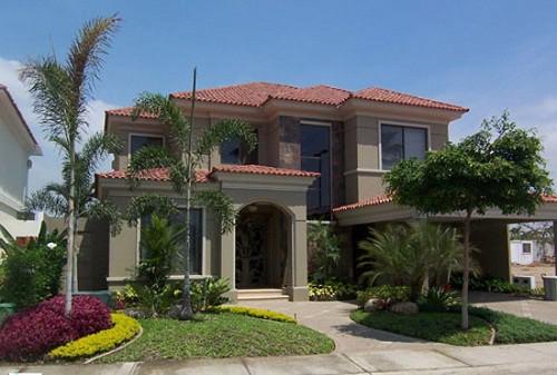 Fachadas de casas lujosas la verdadera comodidad (7)