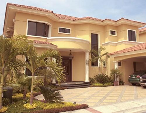 Fachadas de casas lujosas la verdadera comodidad (24)