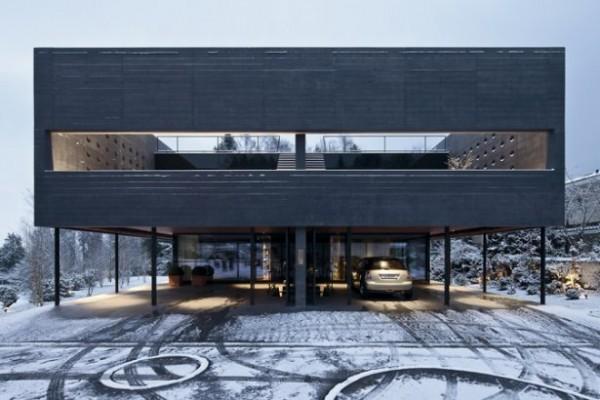 Vivir en la nieve – Casas para habitar en la nieve (5)