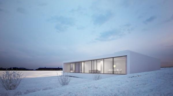 Vivir en la nieve – Casas para habitar en la nieve (3)