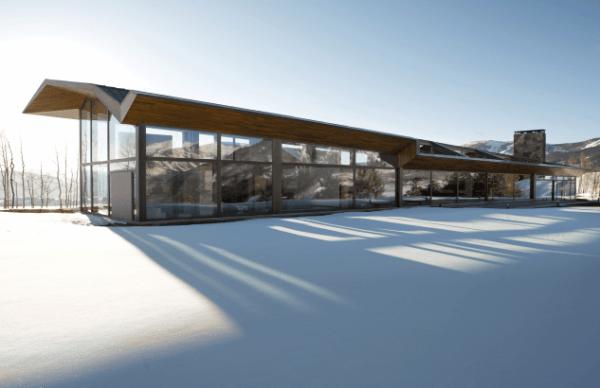 Vivir en la nieve – Casas para habitar en la nieve (1)