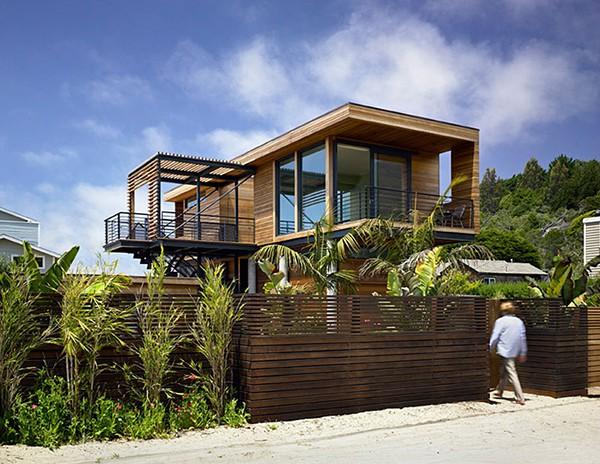 Casa moderna de madera a prueba de inundaciones by peek ancona (8)