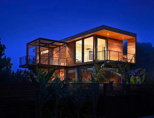 Casa moderna de madera a prueba de inundaciones by peek ancona (6)