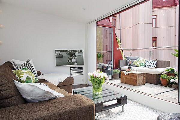 Un apartamento acogedor y familiar bien logrado en una gran ciudad