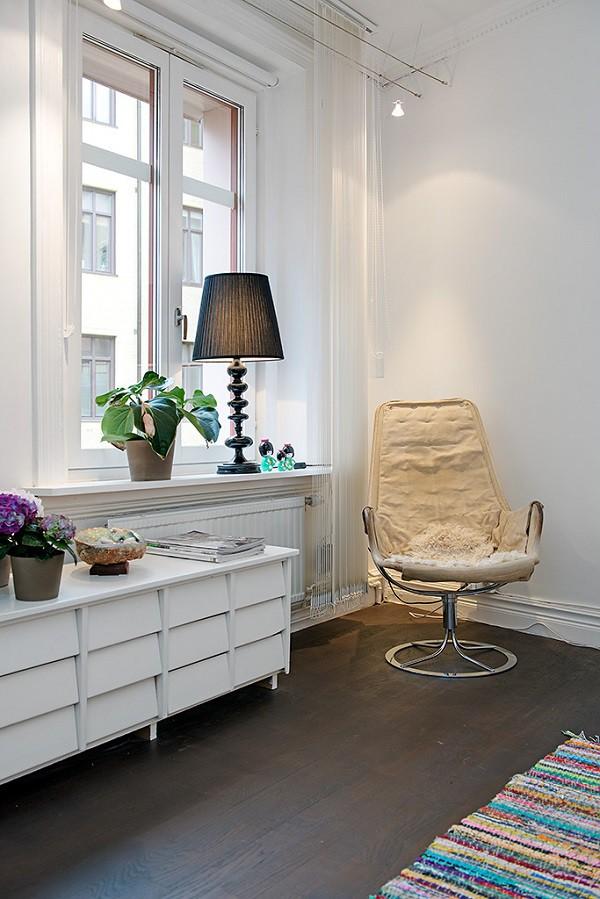 Un apartamento familiar que no le falta nada en Suecia