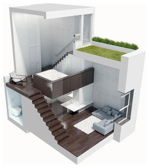 Perfecta Casa Compacta en Terreno Pequeño Ideal para Presupuestos Apretados